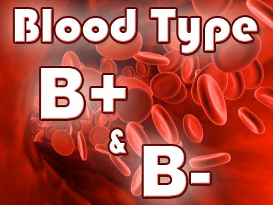 Eating for Your Blood Type – B+ & B-