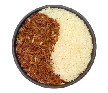 brown-white-rice