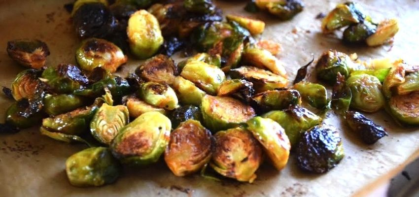 Vegan Recipe: Tasty and Spicy Roasted Brussels Sprouts