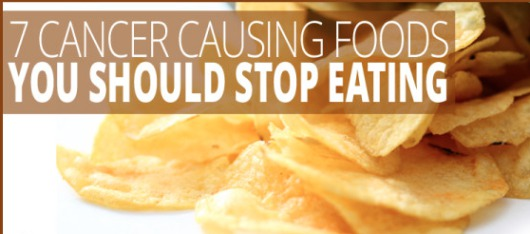 Avoid These 7 Cancer Causing Foods ASAP