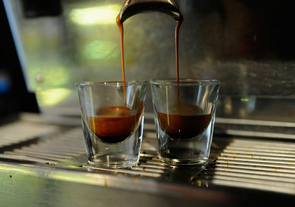 Shots of espresso. The potential health benefits of coffee have been found to be surprisingly large. Credit Kevork Djansezian/Getty Images
