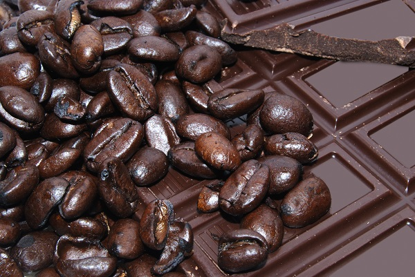 dark chocolate and beans