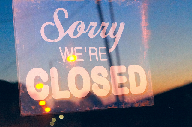 stores closed on thanksgiving