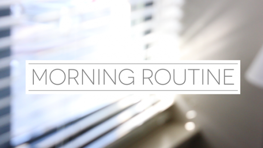 The Benefits of Having A Morning Routine