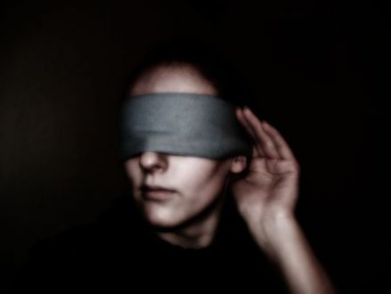 Do you have a Blindfold on?