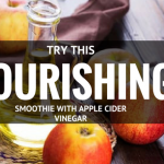 A Nourishing Smoothie with Apple Cider Vinegar
