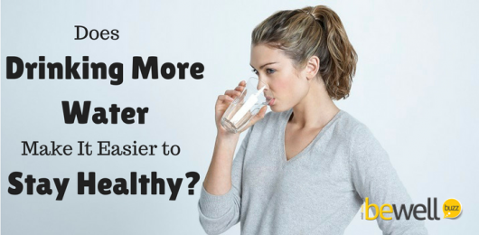 Does Drinking More Water Make It Easier to Stay Healthy?
