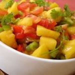 Tropical Fruit Salsa Wraps