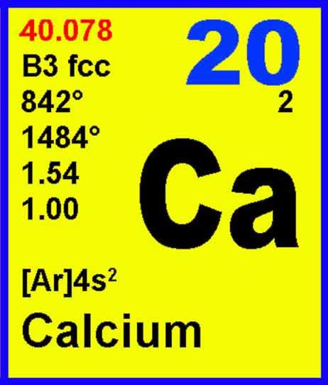 calcium element uses - 426×500