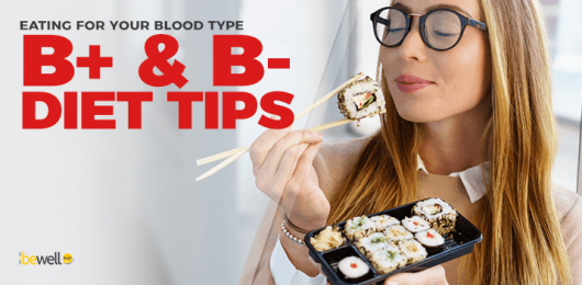 Eating for Your Blood Type—B+ & B-