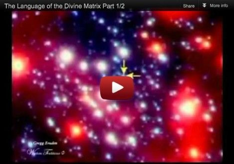 Gregg Braden – The Language of the Divine Matrix Part 1