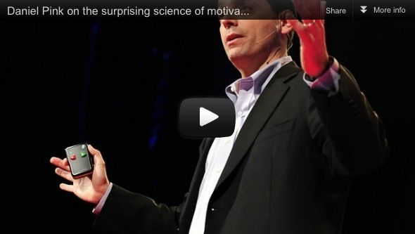 dan pink the puzzle of motivation Transcript: dan pink discusses the puzzle of motivation at ted talk conference following is the transcript of dan pink's talk: the puzzle of motivation at.