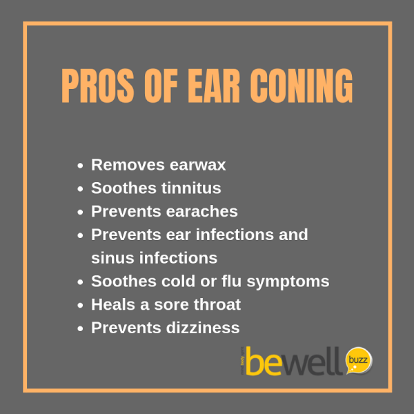 The potential pros of ear coning.