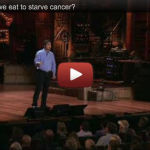 Angiogenesis: Can we eat to starve cancer?