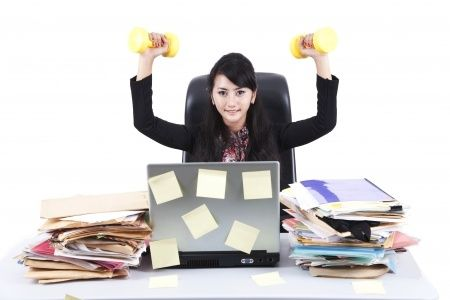 Fit, energized, and de-stressed during your lunch break!  Without leaving the Office (Part 1)