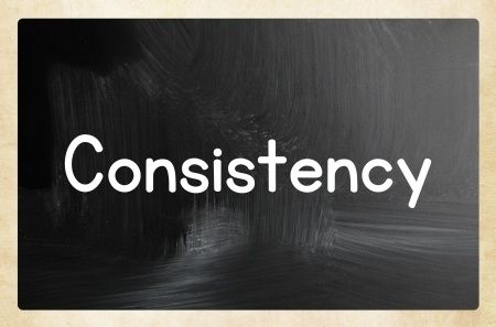 Consistency – Why Do You Need to Be Consistent