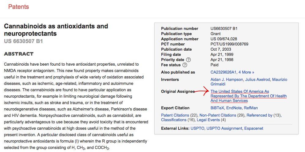 CBD-patent