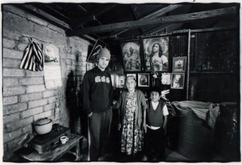 "Photo: (Left to right) Oliver Quintanilla, Natalia Martinez, ""Chelas"" Martínez."