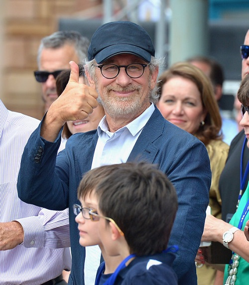 ORLANDO, FL - JUNE 20:  Steven Spielberg attends Transformers The Ride - 3D Grand Opening Celebration at Universal Orlando on June 20, 2013 in Orlando, Florida.  (Photo by Olivia Salazar/WireImage)