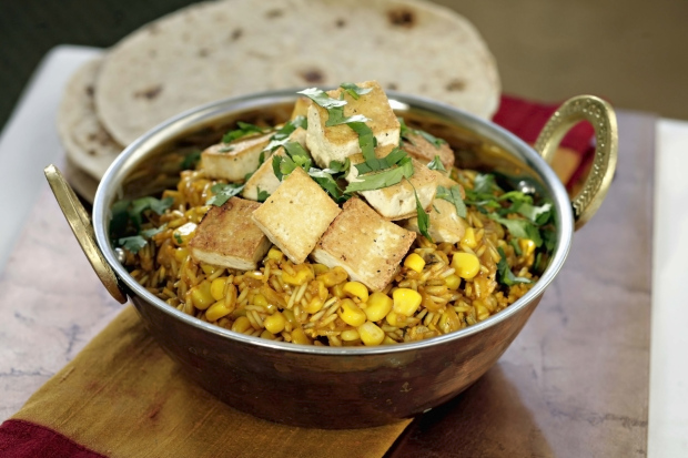 Coconut and tofu pilau  (Picture: Getty)