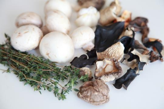 Mushroom-broth