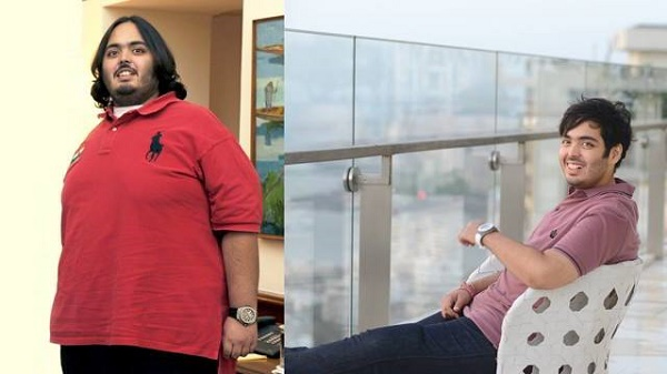 Anant Ambani: Before and After