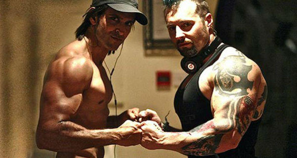 Hrithik Roshan and trainer Kris Gethin