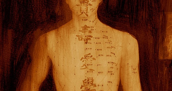 The map was created by Chinese healing practitioners nearly 2000 years ago.