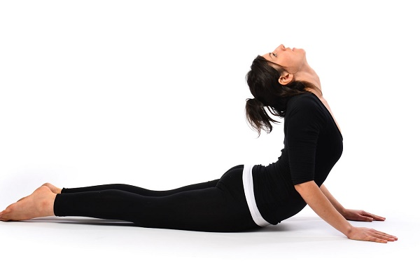 Cobra Pose, an active pose.