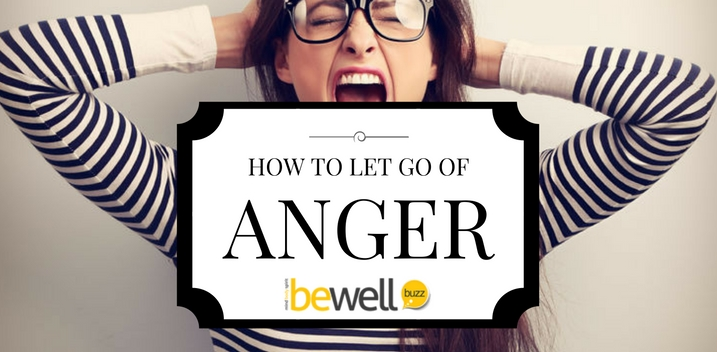 how to let go of anger