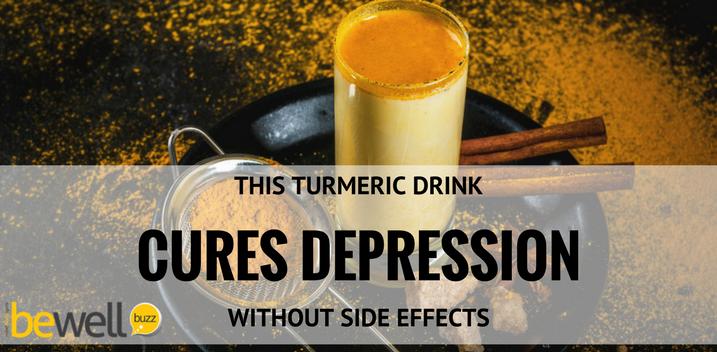 Turmeric, treat depression