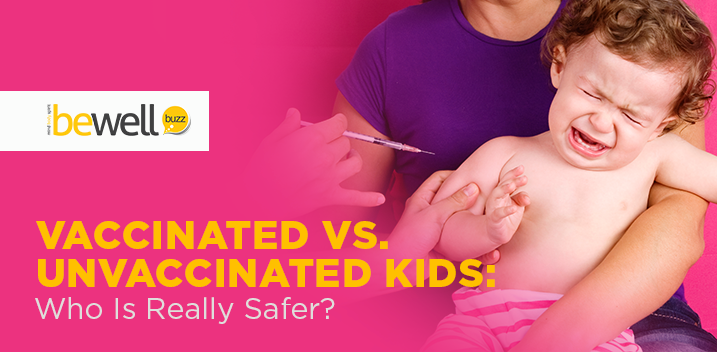 vaccinated kids