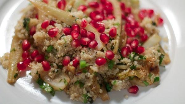 Protein Packed Pomegranate Quinoa Recipe