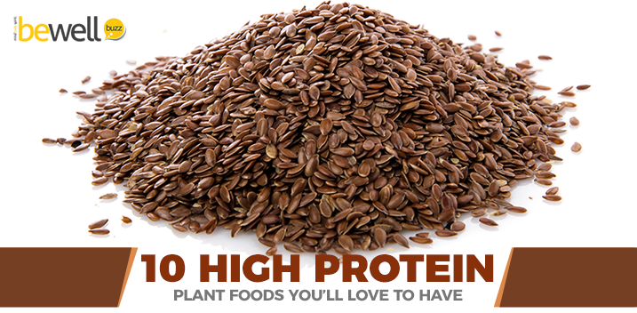 10 High Protein Plant Foods
