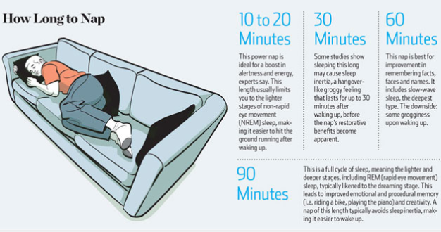 Sleep myth: Power Naps Will Make You Feel Refreshed