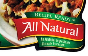 Meat Label: All Natural