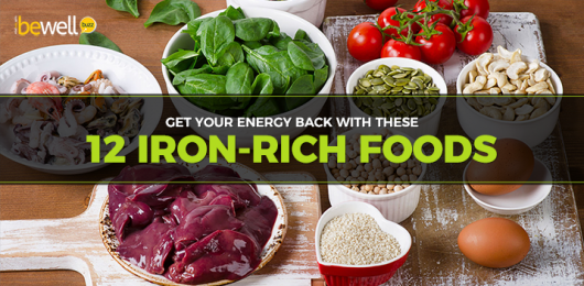 <thrive_headline click tho-post-52405 tho-test-628>12 Iron-Rich Foods To Help You Combat Anemia and Low Energy</thrive_headline>