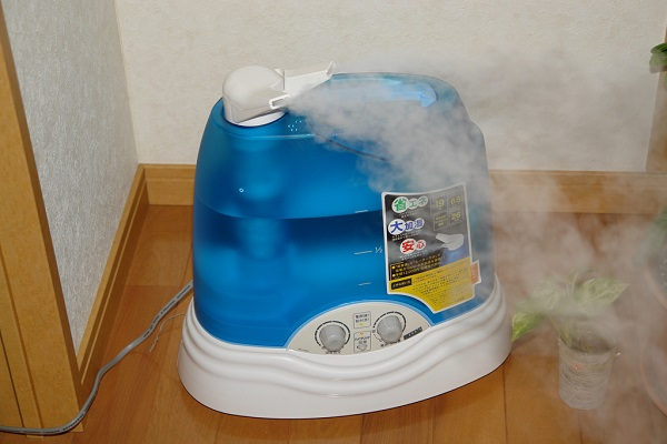 Add about 20 drops of essential oils to a humidifier in the room where you sleep.