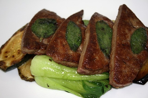 Iron Rich Foods: Beef Liver