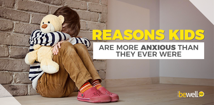 Main Reasons Children Suffer from Anxiety
