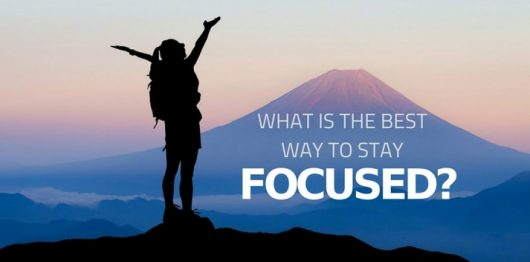 The Number ONE Ingredient for a Successful Career is: FOCUS!