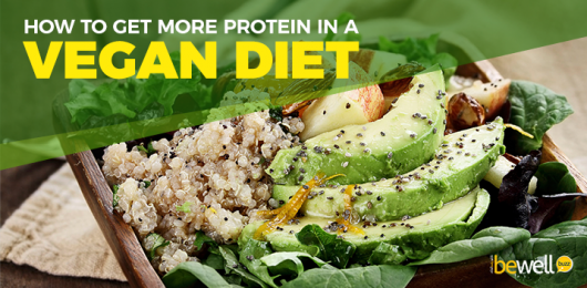 How to Get More Protein in A Vegan Diet