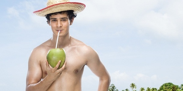 Coconut water reduces heartburn.