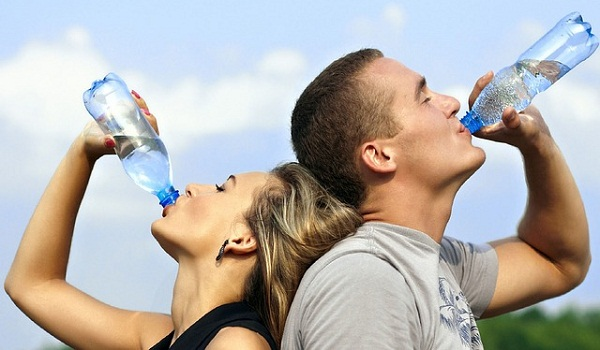 Dehydration is a major risk for people with sickle cell anemia.