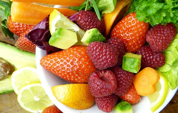 Vitamin C is found in many fruits and vegetables. Be sure to eat a few of them raw every day.