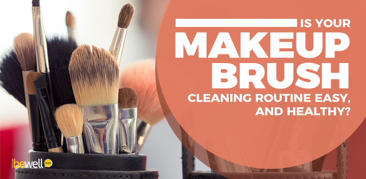 How to Clean Your Makeup Brushes Easily & Naturally