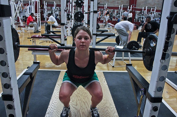 Best Gluteus Maximus Exercises: Weighted Squats