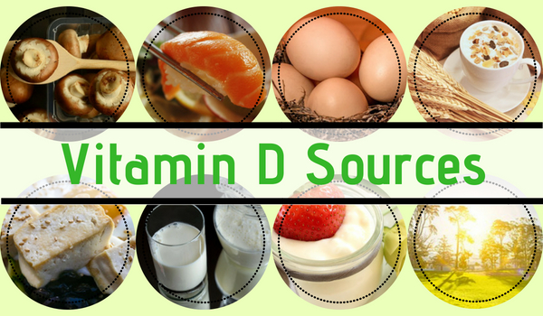 Food sources of vitamin D are few and far between.