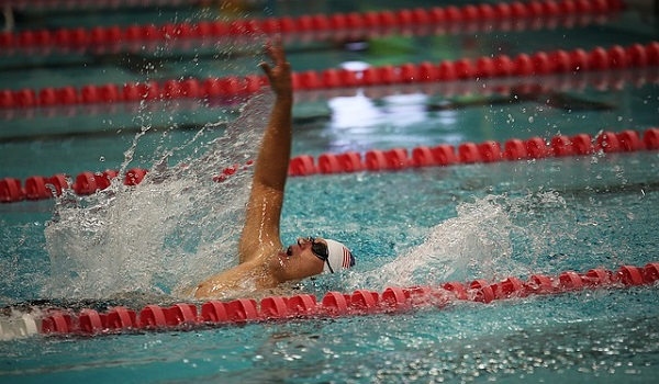 The backstroke is one of the best swimming exercises for improving posture and for toning.