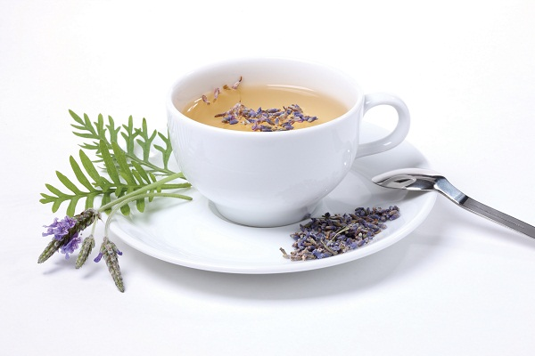 Lavender herbal tea, known for its calming effects, can help you sleep better.